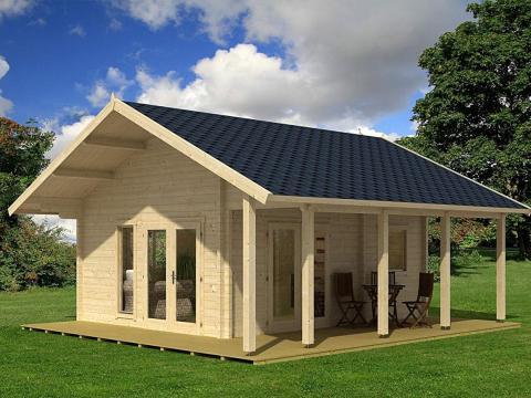 En lugar de tratarlas como residencias, Allwood tiene otras sugerencias. Para este modelo de Bella de 15.300 euros aproximadamente, la compañía sugiere convertirlo en una casa de lago, una casa de campo con jardín o un edificio comercial independiente.