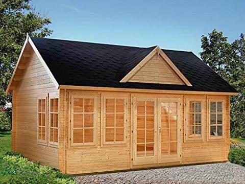 La casa de Allwood Claudia es un modelo de 20 metros cuadrados que cuesta 7.700 euros aproximadamente.