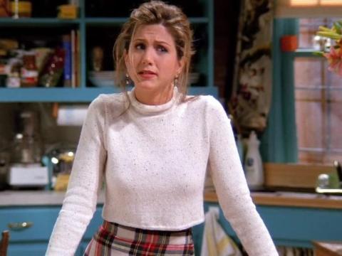 Los productores del programa no sabían si la mantendrían como Rachel al principio.