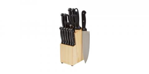 juego de cuchillos Amazon Basics por 35,99 euros