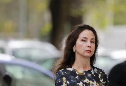 La juez Alaya llega al tribunal de Sevilla el 13 de noviembre de 2014.