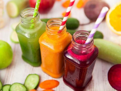 El ayuno de jugos te ayudará a perder peso.