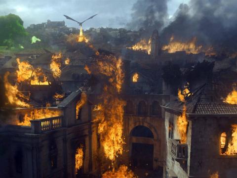 """Desembarco del Rey en la serie de HBO """"Juego de tronos""""."""