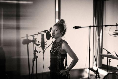 Lauren Daigle en el estudio