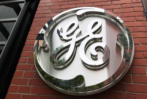 Logo de General Electric.