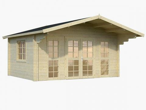 La casa Allwood Sunray cuesta 8.000 euros aproximadamente en Amazon.