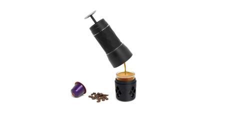 máquina de café espresso portátil compatible con cápsulas Nespresso