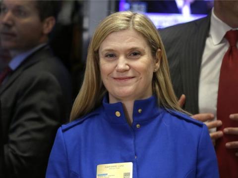 Marianne Lake, directora ejecutiva de préstamos al consumo, JPMorgan Chase & Co