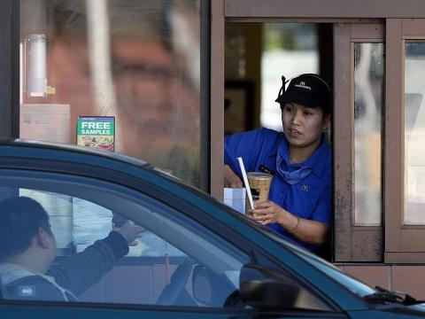 McDonald's drive-thru wait times keep stretching longer and longer.