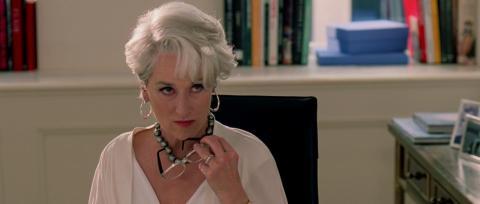 Meryl Streep en El diablo viste de Prada
