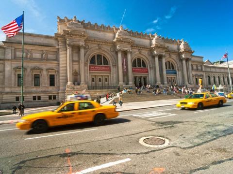 El Met es el museo más grande de los Estados Unidos.