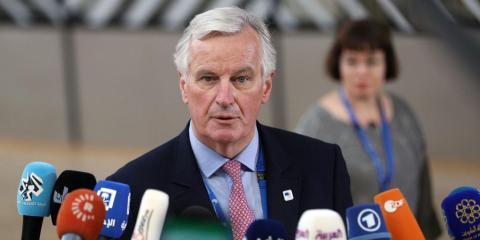 Michel Barnier, principal negociador para el Brexit.