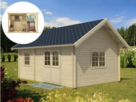Los modelos vendidos por WNC Tiny Homes son un poco más costosos que los de Allwood. Por ejemplo, el modelo Craven, con sólo 8 metros cuadrados, cuesta más de 16.000 euros con el envío.