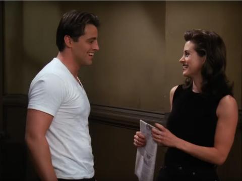 A los espectadores les gustó mucho la química entre Mónica y Chandler.