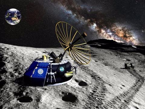 Ilustración del módulo de aterrizaje de Moon Express