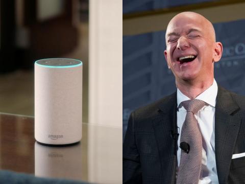 Jeff Bezos Alexa