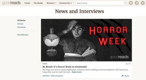 Puedes leer entrevistas exclusivas y las últimas novedades literarias.