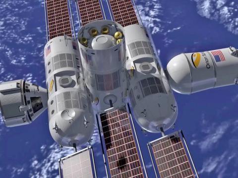 Estación Espacial Aurora, de Orion Span.