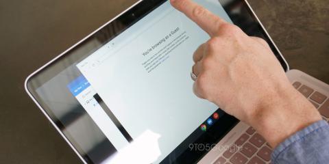 Pantalla del Google Pixelbook Go