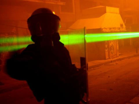 The Pentagon has commissioned a laser that can identify people by their heartbeat from 200 yards away.