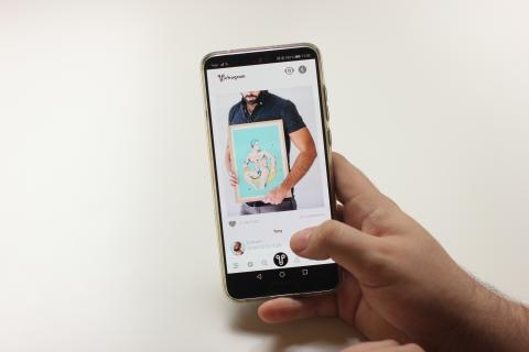 Pichagram, la app que busca escapar de la censura de Instagram.