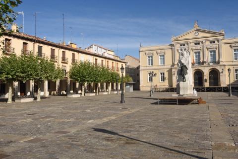 Plaza principal de Palencia.