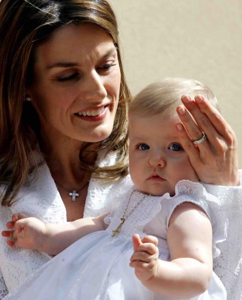 Bautizo de la princesa Leonor el 14 de enero de 2006.