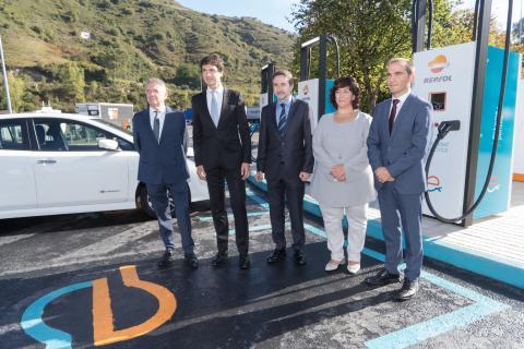 Punto de carga coches eléctricos más potente de Europa