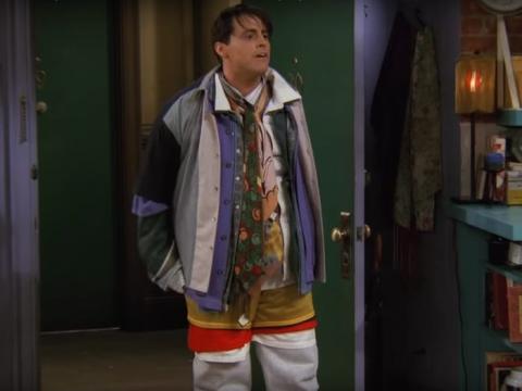 Este episodio icónico sólo tiene lugar en el apartamento de Mónica.