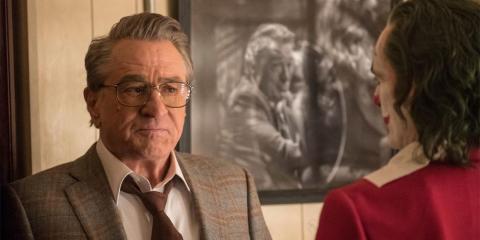 """Robert De Niro interpreta a Murray Franklin, presentador de un programa de entrevistas nocturno, en """"Joker""""."""