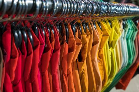 Ropa por colores