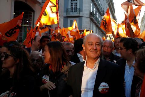 Rui Rio, líder socialdemócrata portugués.