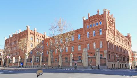 Sede de ICADE, de la Universidad de Comillas, en Madrid.