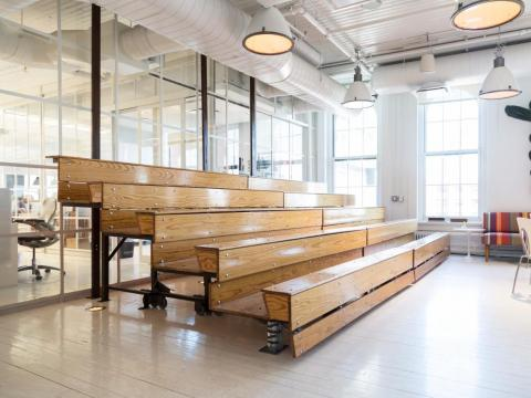 Interior de la empresa Axiom en Nueva York