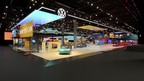 Stand de Volkswagen