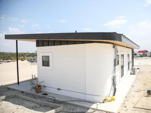 Usually, with prefab or mobile homes, units are manufactured in an off-site factory and then shipped to their final location, Loomis said.