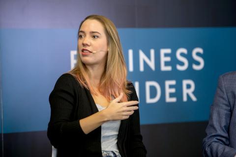 Valeria Castro, presidenta de DEV