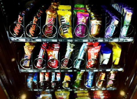 vending, máquina expendedora, chocolatinas