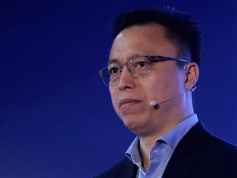 CEO de Ant Financial, Eric Jing.