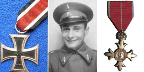 Joan Pujol García fue finalmente condecorado con la Cruz de Hierro por los alemanes y con la Orden de la Excelencia del Imperio Británico.