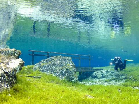 El Green Lake en Austria.