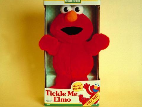 1996: Tickle Me Elmo
