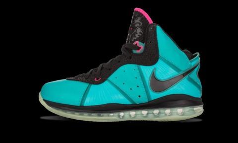 "2010: Nike LeBron 8 ""South Beach"""