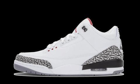 2013: Air Jordan 3 OG '88 White/Cement
