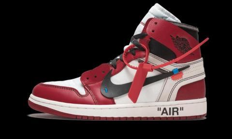 2017: Off-White x Air Jordan 1