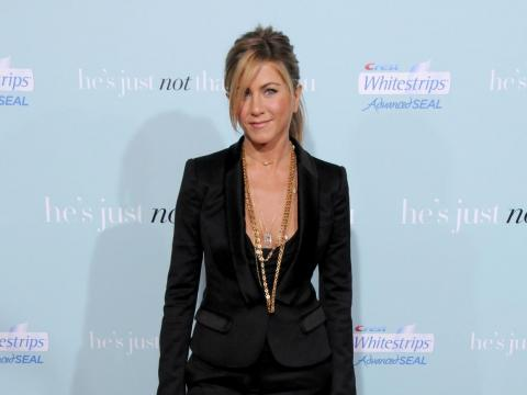 """After the show, Aniston's film career took off. Her hit comedies include """"He's Just Not That Into You"""" (2009) and """"The Bounty Hunter"""" (2010), which grossed $178 million and $136 million in global box office sales respectively."""