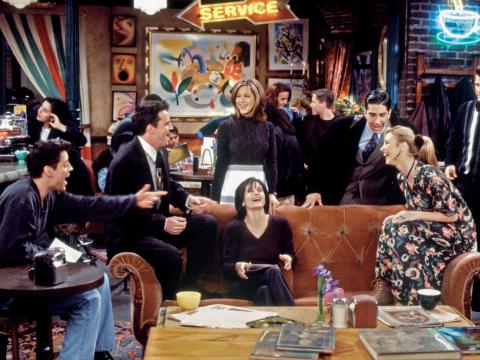 """Aniston joined the cast of """"Friends"""" in 1994 and has made millions from the show, which aired for 10 seasons."""