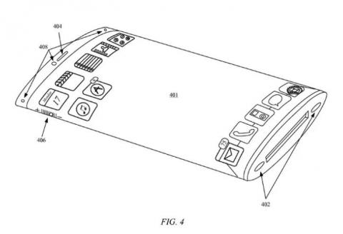 Apple recently filed a new patent for an iPhone with a wraparound glass screen that forms 'a continuous loop'