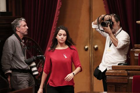 Arrimadas en el Parlament