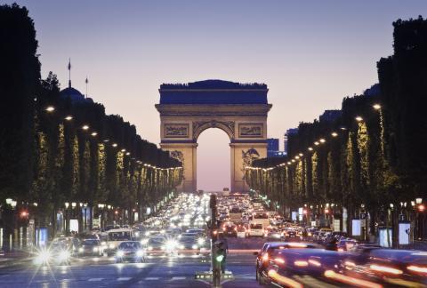 Avenida de los Campos Elíseos, París, Francia
